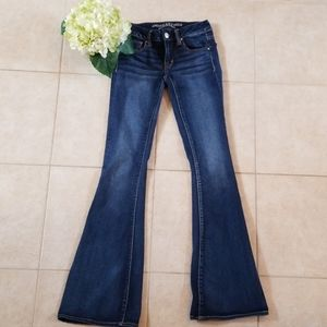 American Eagle jeans size 0 long